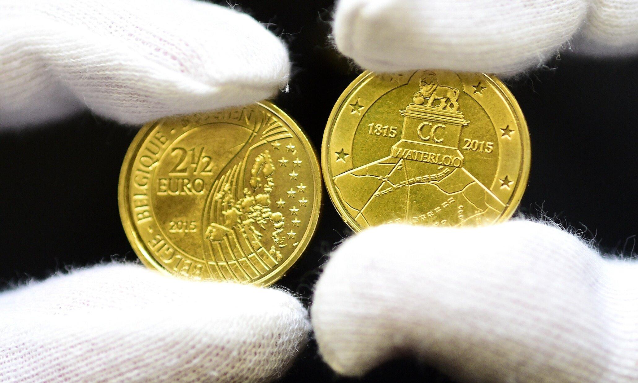 Belgium 2.5 Euro Coin