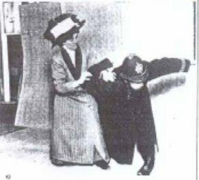 Edith Garrud takes down a policeman